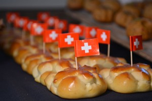 Brioche made for Swiss National Day
